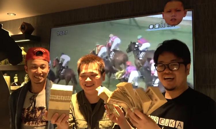 대박마권 일본 경마 유튜버 이번엔 오카쇼 G1 대상경주 단승식에 5천만원 올인 승부