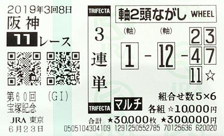 일본경마 대상경주 적중마권1 일본경마 총결산 다카라즈카 기념 대상경주 결과! 암말 역대 4번째 우승