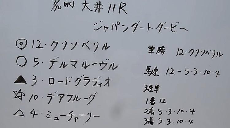 오오이경마 더비예상 일본지방경마 도쿄 오오이 경마장 재팬더트더비 경마예상 및 결과