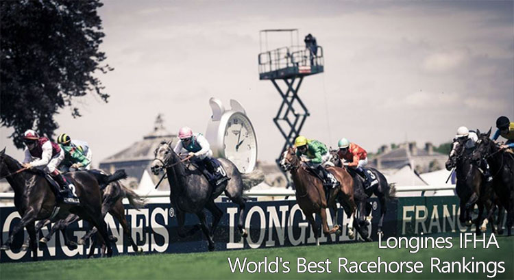best Race Horse 국제경마연맹 7월 발표 서러브레드(경주마) 레이팅 및 월드 랭킹