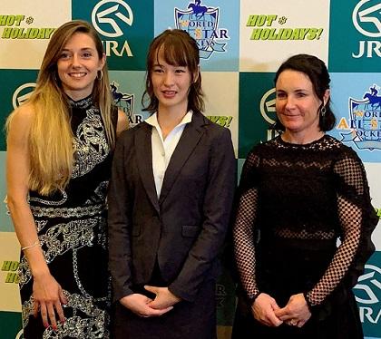 외국 여성기수 일본중앙경마 세계기수대항전 출전 프랑스 미녀기수 미카엘 미셸 화보