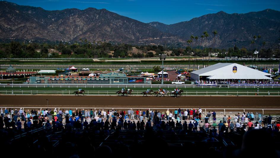 Santa Anita Park4 미국 경마올림픽 브리더스컵 월드 챔피언십과 챌린지 시리즈