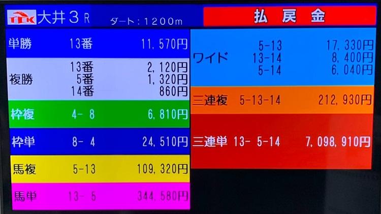 도쿄 오오이경마 7만배 커뮤니티