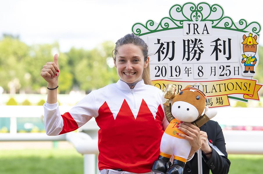 프랑스여성기수 일본경마 프랑스 미인자키 미카엘 미셸 기수 일본지방경마에 기승? 가와사키 경마장 소속