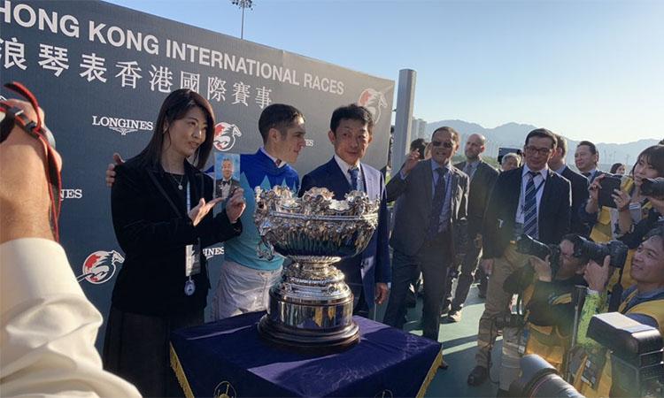 Hong Kong mile winner 홍콩 샤틴경마장 국제경마대회 홍콩컵 등 일본마 3두가 G1 우승