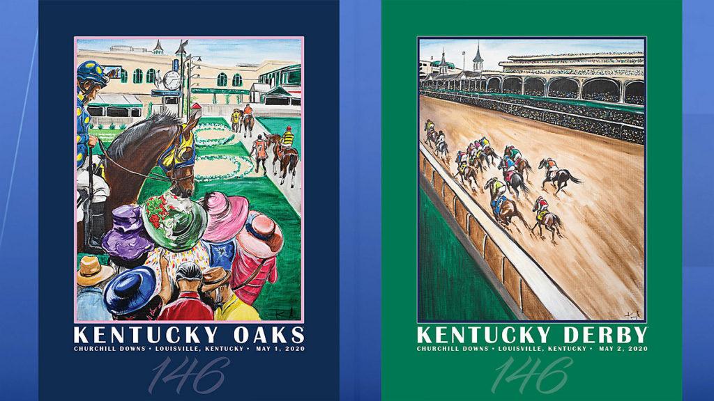 Kentucky Oaks derby posters 1024x576 2020 켄터키 오크스 선발전 1위 British Idiom과 드무아젤 Lake Avenue, 스탈렛 Bast