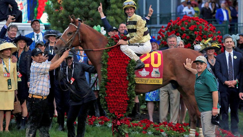 Kentucky Derby roses 1024x576 미 삼관경주 켄터키 더비 포인트 레이스 Sham Stakes, Authentic 데뷔 2연승