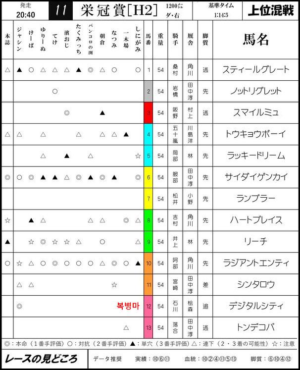일본경마예상지 에이칸쇼 일본경마 첫 2세마 대상경주 몬베츠경마장 영관상(에이칸쇼)