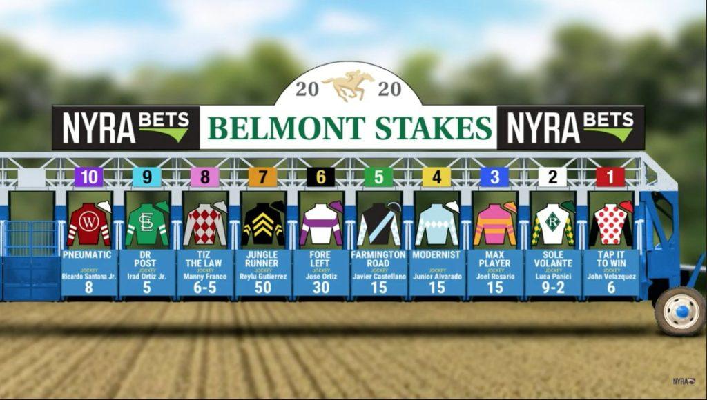 Belmont Stakes 2020 1024x580 미국 삼관경주(트리플크라운) 2020년 벨몬트 스테익스 Tiz the Law 우승