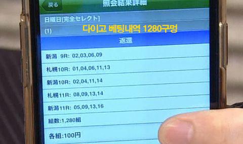 DAIGO WIN5 BETTING 일본경마 스프린트시리즈 아이비스SD, 연예인 다이고 WIN5 로또마권 적중!