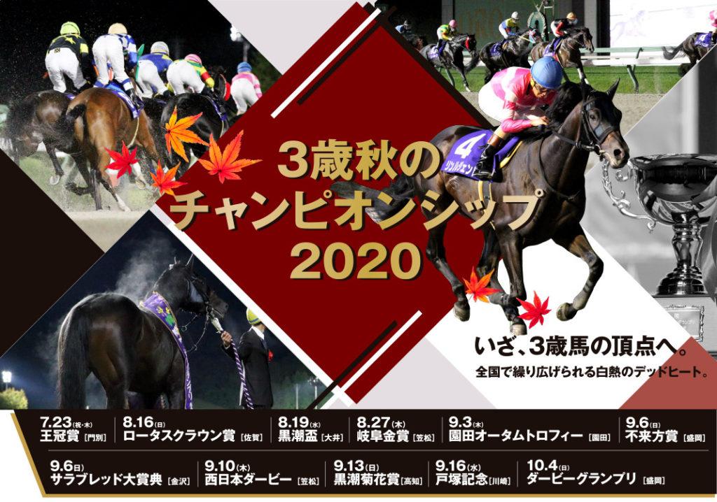 일본3세마대상경주 1024x718 일본지방경마 3세마 챔피언십 카사마츠 경마장 서일본더비