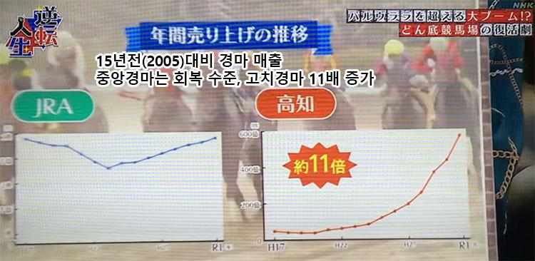일본경마매출비교 일본지방 고치경마 일일 매출 2일 연속 신기록! 130억원 돌파