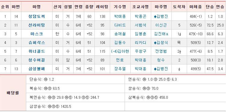서울경마 청담도끼 커뮤니티