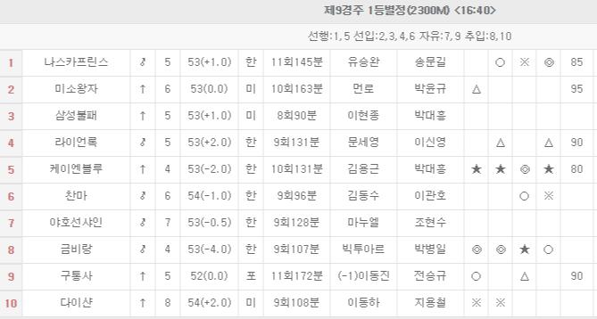 어린이날 기념경주 대박 삼쌍승식 고배당 일요경마예상 및 로또 마권 2019.5.5