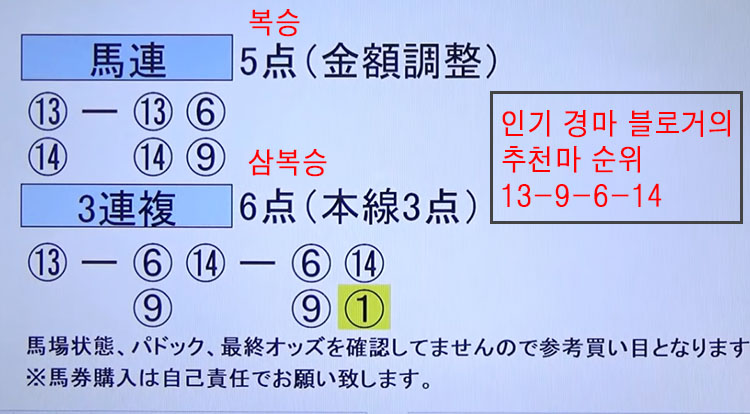 일본오크스 경마예상 일본경마예상지 12일 가와사키 경마장 간토 오크스 경주 결과