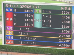 hanshin racecourse05 300x225 일본경마 총결산 다카라즈카 기념 대상경주 결과! 암말 역대 4번째 우승