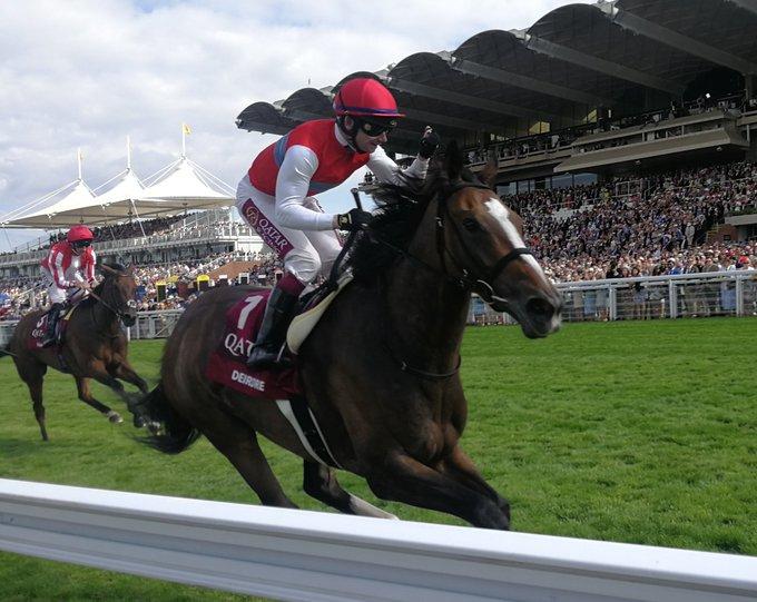 DEIRDRE [경마속보] 영국 굿우드페스티벌 암말경주 Nassau Stakes 일본마 Deirdre 우승