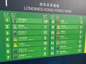 Hong Kong International Races02 300x225 금주 일요일 샤틴경마장 2019 홍콩국제경주 게이트 추첨! 일본마 9두 출전