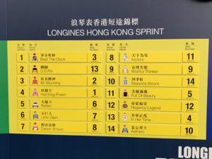 Hong Kong International Races03 300x225 금주 일요일 샤틴경마장 2019 홍콩국제경주 게이트 추첨! 일본마 9두 출전
