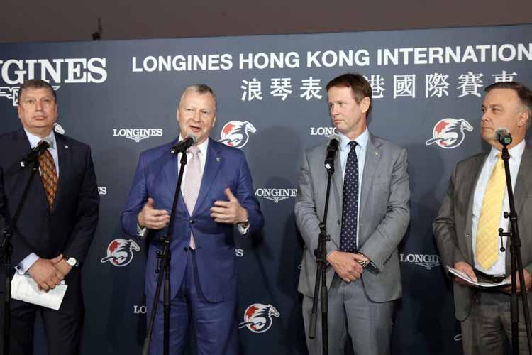 Hong Kong Jockey Club CEO 홍콩자키클럽 CEO, 샤틴경마장 일요경마 국제경주데이 역대 최고 매출