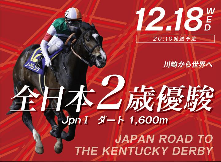 Japan Road to the Kentucky Derby 일본지방경마 켄터키더비 출전마 선발 카와사키경마장 전일본 2세마 유슌