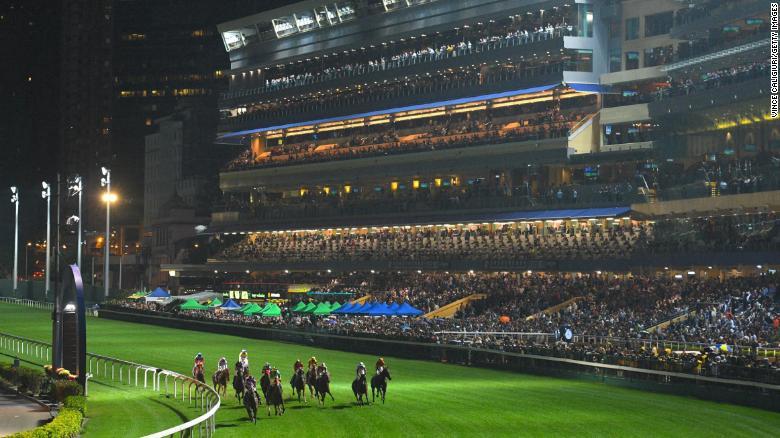 happy valley racecourse 홍콩 해피밸리 경마장 야간경마 International Jockeys' Championship
