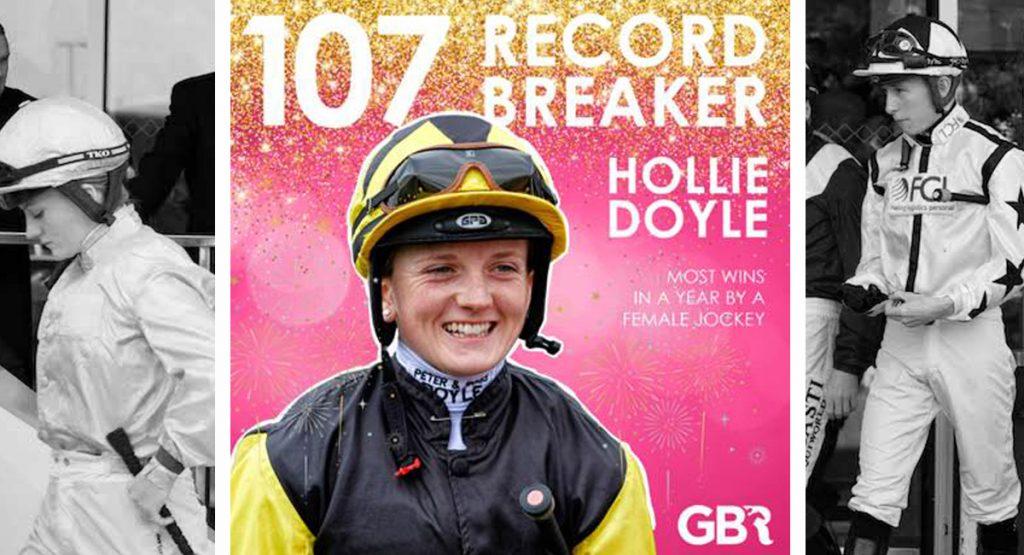 Hollie Doyle record 영국의 최다승 여성기수 홀리도일, 뉴캐슬 경마 2연승! 글렌시엘(Glen Shiel) 전투