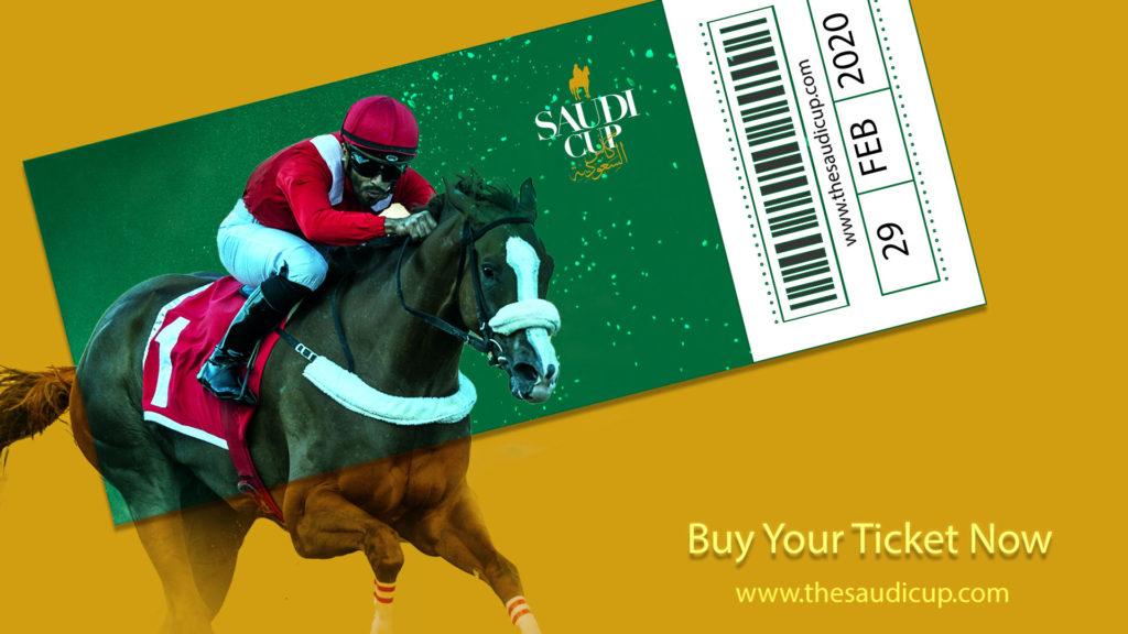 saudi cup ticket 1024x576 세계 최고액 상금의 경마대회 사우디컵에 143두 등록! 블루치퍼는 더트 스프린트