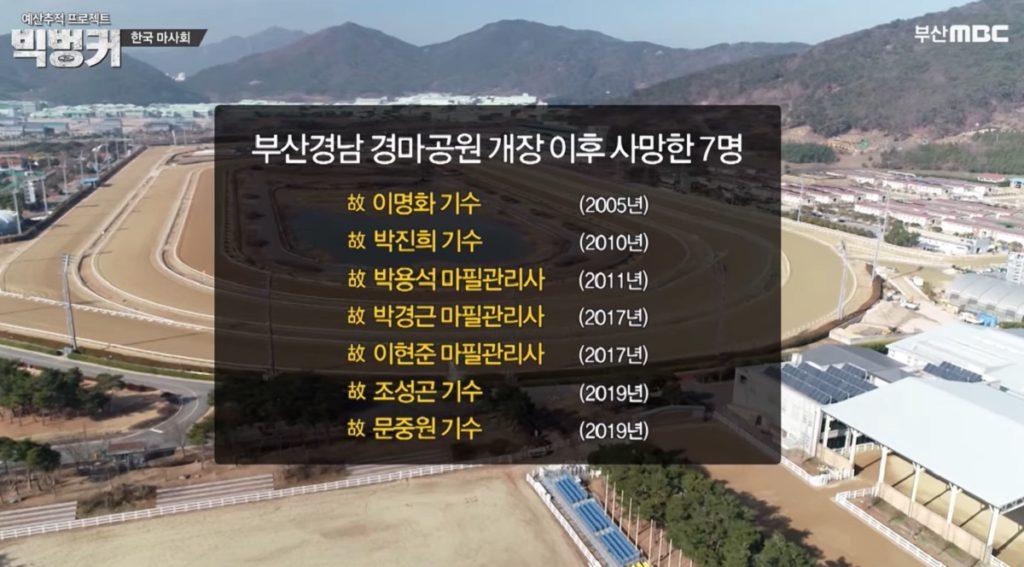 부산경마장 사망기수 1024x567 빅벙커, 죽음의 경주 공공기업체 한국마사회 경마기수 문중원의 유서