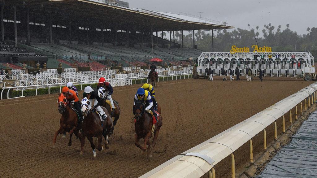 Santa Anita Park Stakes 1024x575 미국 산타아니타파크 경마장 15일 재개장! 더비, 오크스 등 스테익스 일정