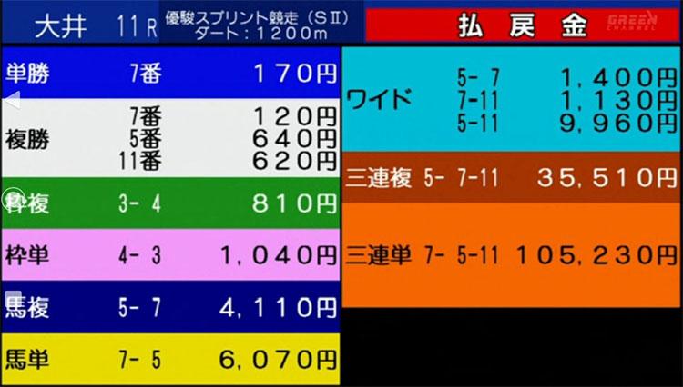 ooi yushun result 미나미간토 3세마 출전 도쿄 오오이경마장 유슌 스프린트 예상