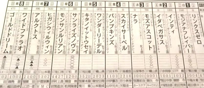 남부배 예상지 일본지방경마 모리오카경마장 마일 챔피언십 남부배, Arctos 레코드 우승