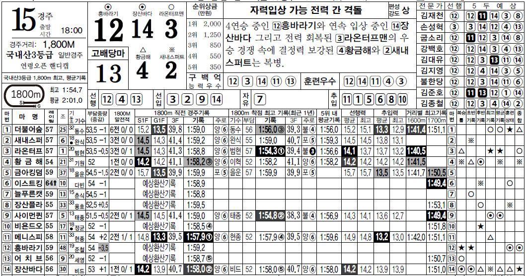 0307 서울경마예상 3/7(일) 서울경마예상 막경주 15R 라온터프맨 우승! 노장 투혼 6R 데트히트 동착
