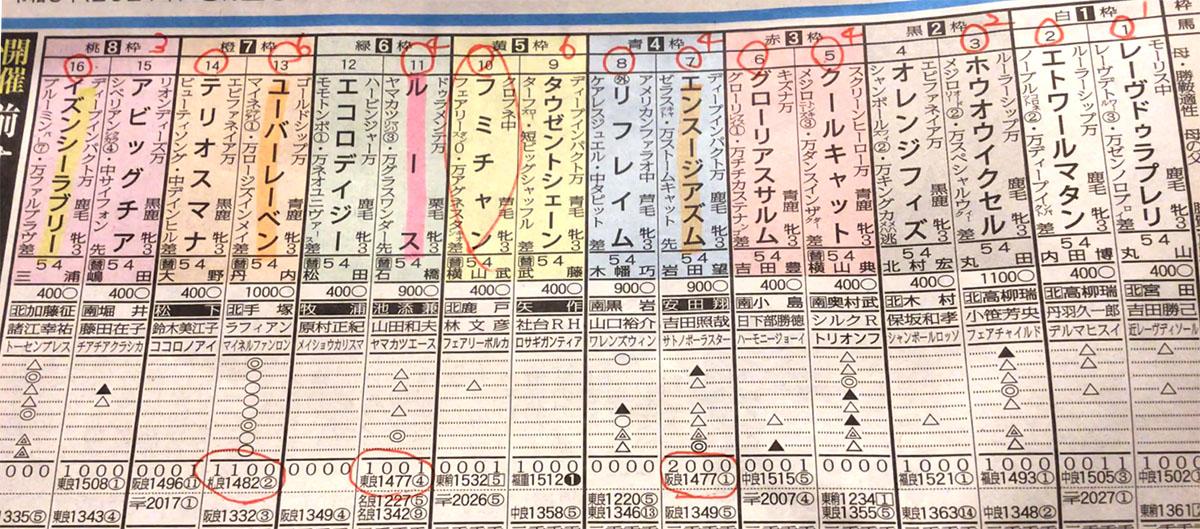 FLOWER CUP 일본 JRA 나카야마경마장 3세 암말 플라워컵(Flower Cup, G3)