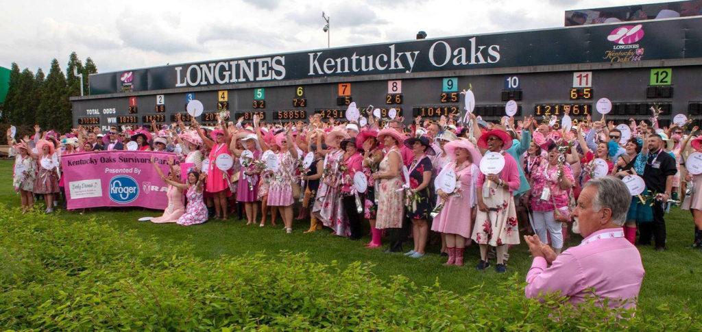 Kentucky Oaks FASHION 1024x485 미국 트리플티아라 제1관문 켄터키 오크스(Kentucky Oaks) Malathaat 우승