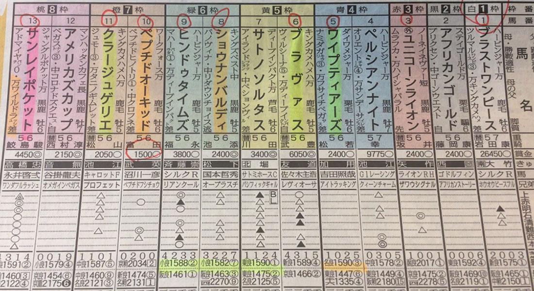 일본경마예상지 鳴尾記念 일본 JRA 주쿄경마장 나루오기념(鳴尾記念, G3)